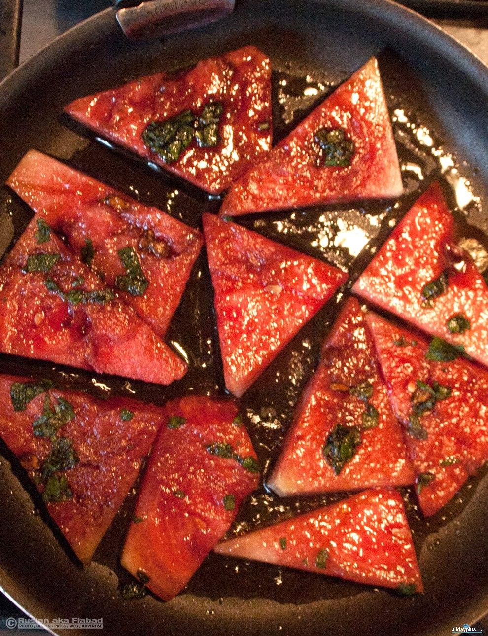 Рецепты из дыни жареная на гриле