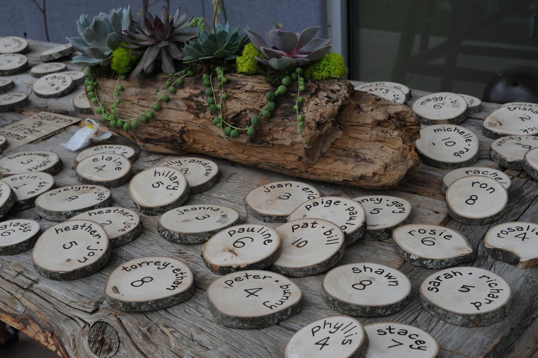 Diy wood wedding