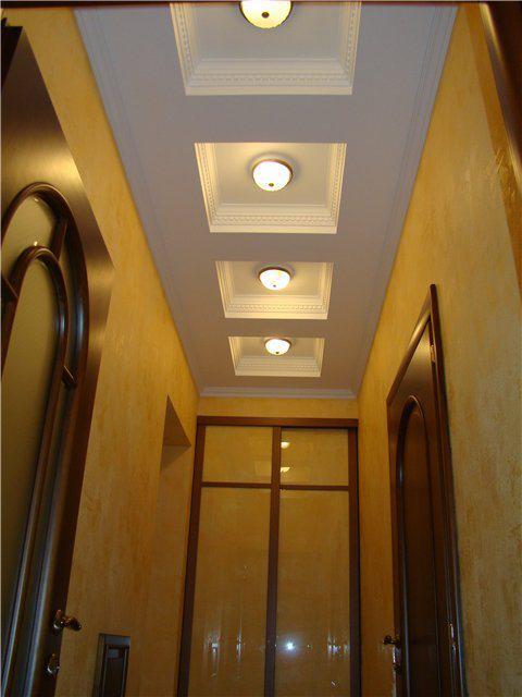 Дизайн потолков прихожей