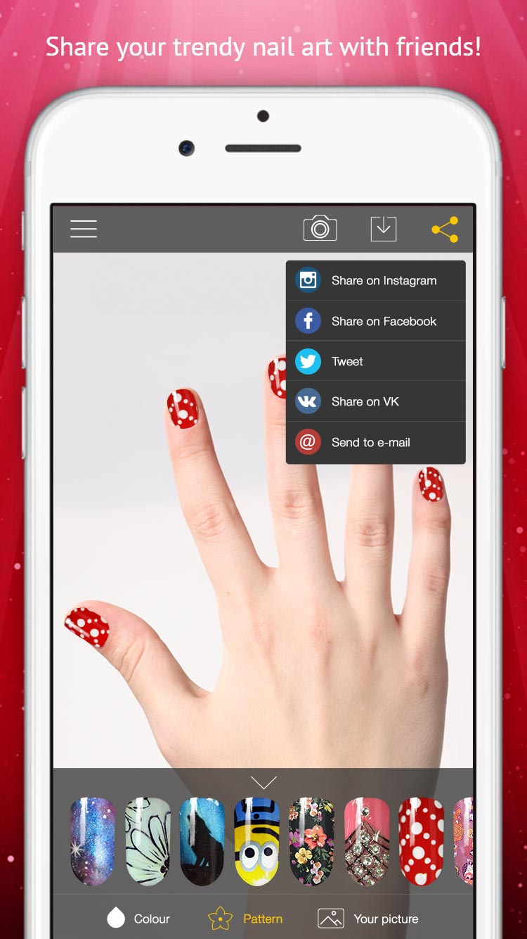 Try On Nail Design and Nail Polish - Hand Recognition Augmented ...