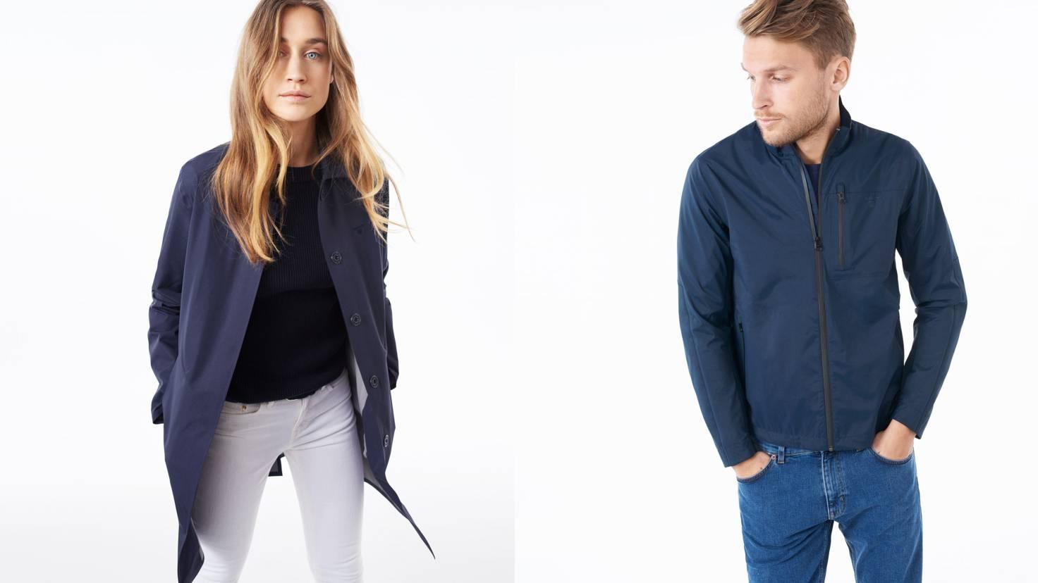 GANT, выбор дизайнера, обзор нескольких курток из коллекции весна-лето 2016
