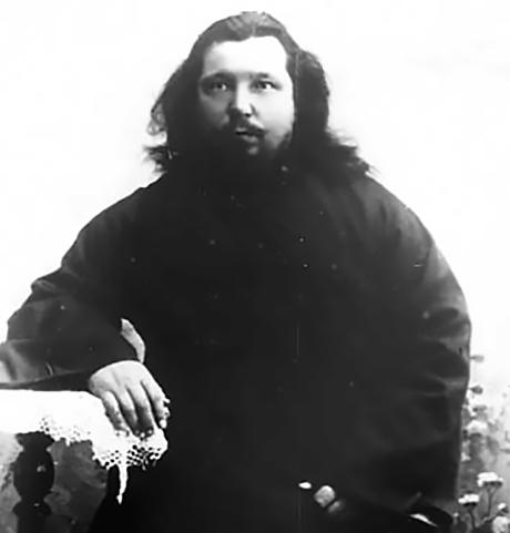 Максим Михайлов в годы службы дьяконом в церкви