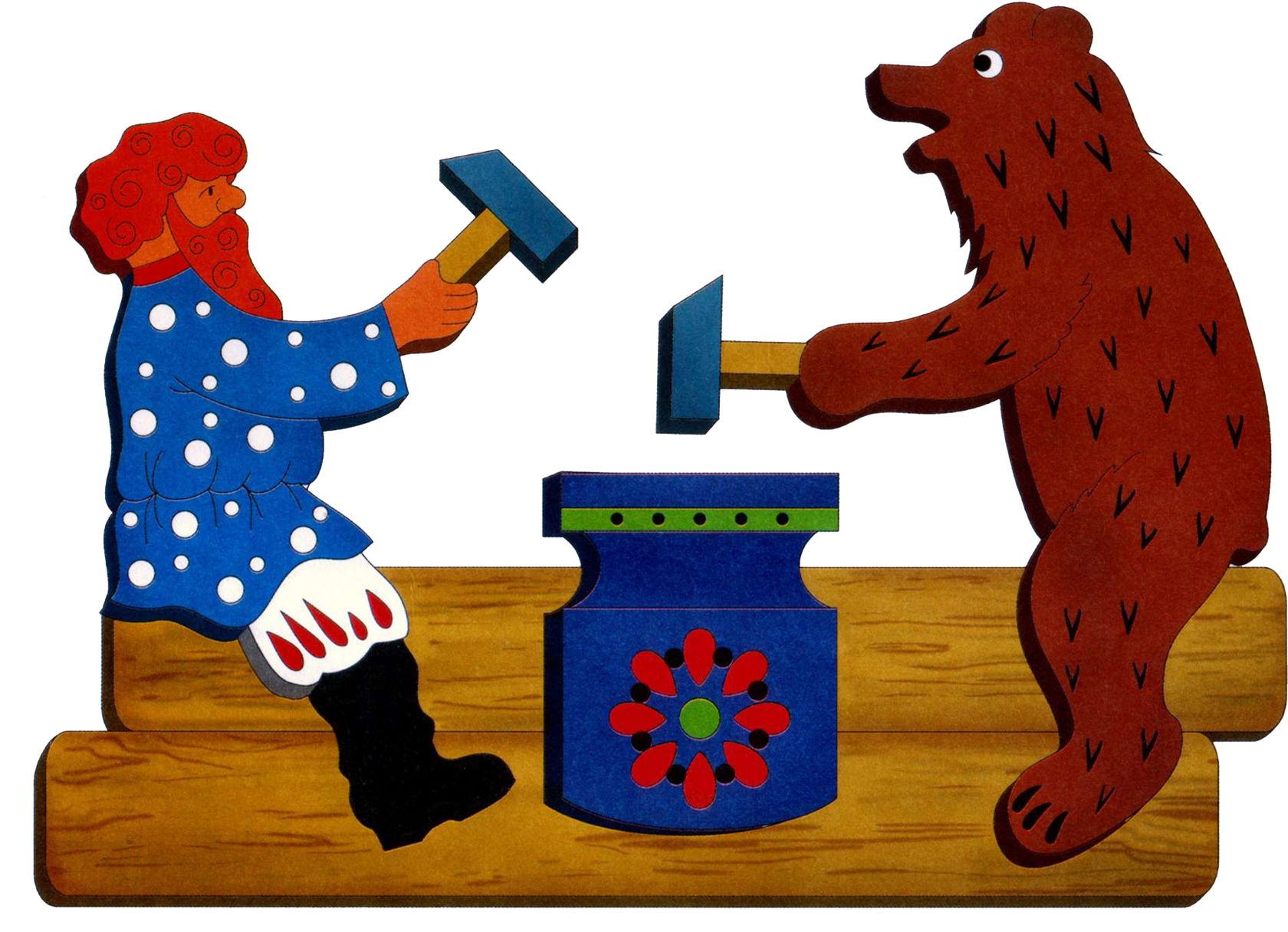 богородская игрушка картинки для раскрашивания вышивка новому