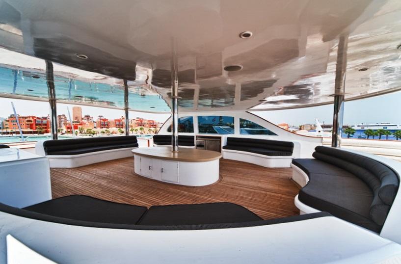 Кайт-сафари на яхте Scuba Scene