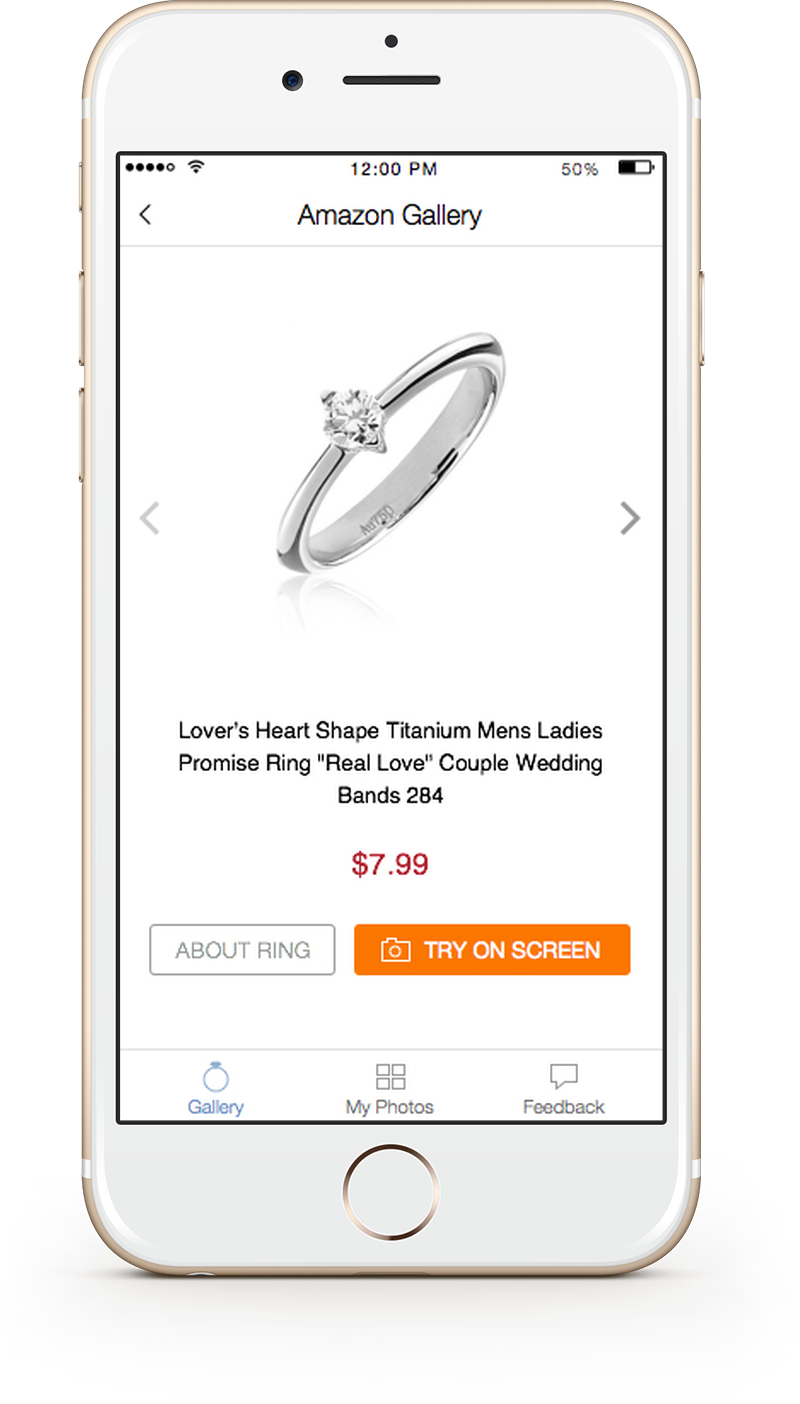 Try On Rings And Accessories Hand Recognition and Augmented