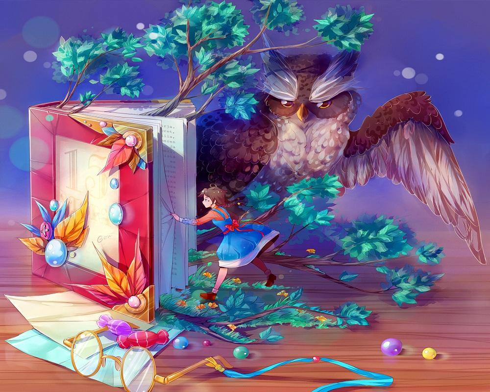 Книга и волшебство картинки