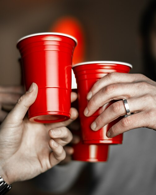 Pack Of 240 American Large Red Party Cups 18oz 532ml Disposable