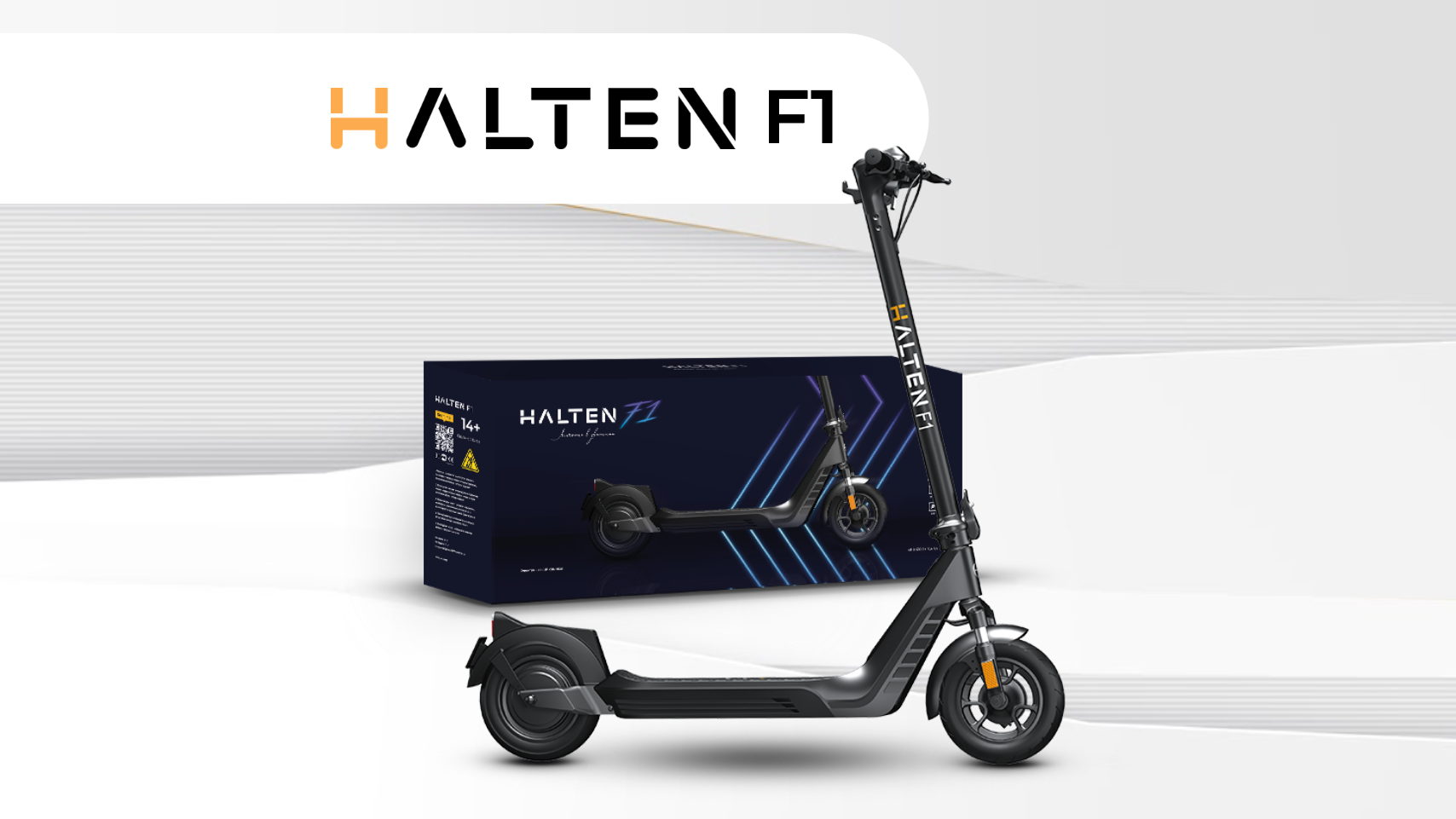 Электросамокат HALTEN F1