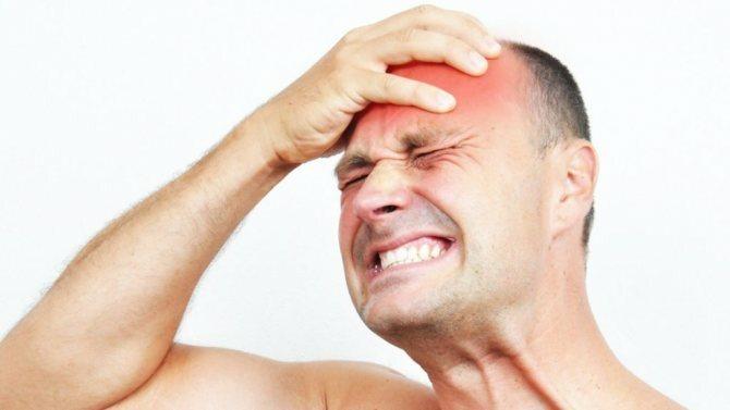 болит голова после удара