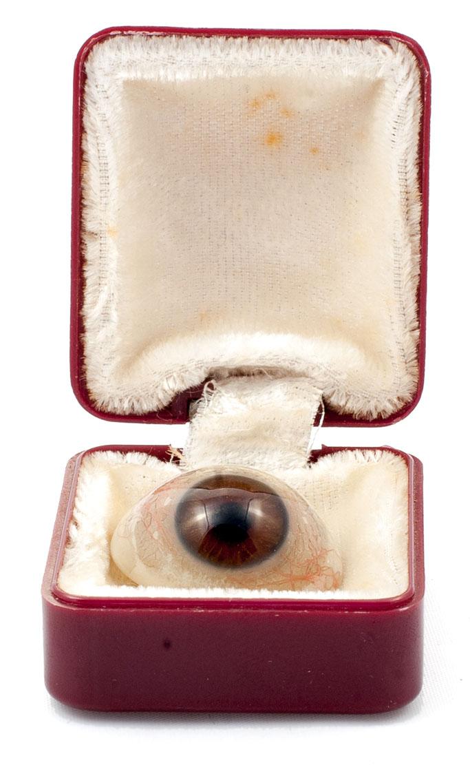 Протез глаза. Конец XIX — начало XX в.
