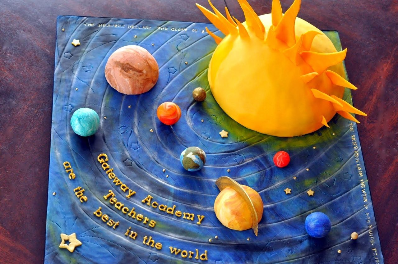 solar system project - HD 1200×797