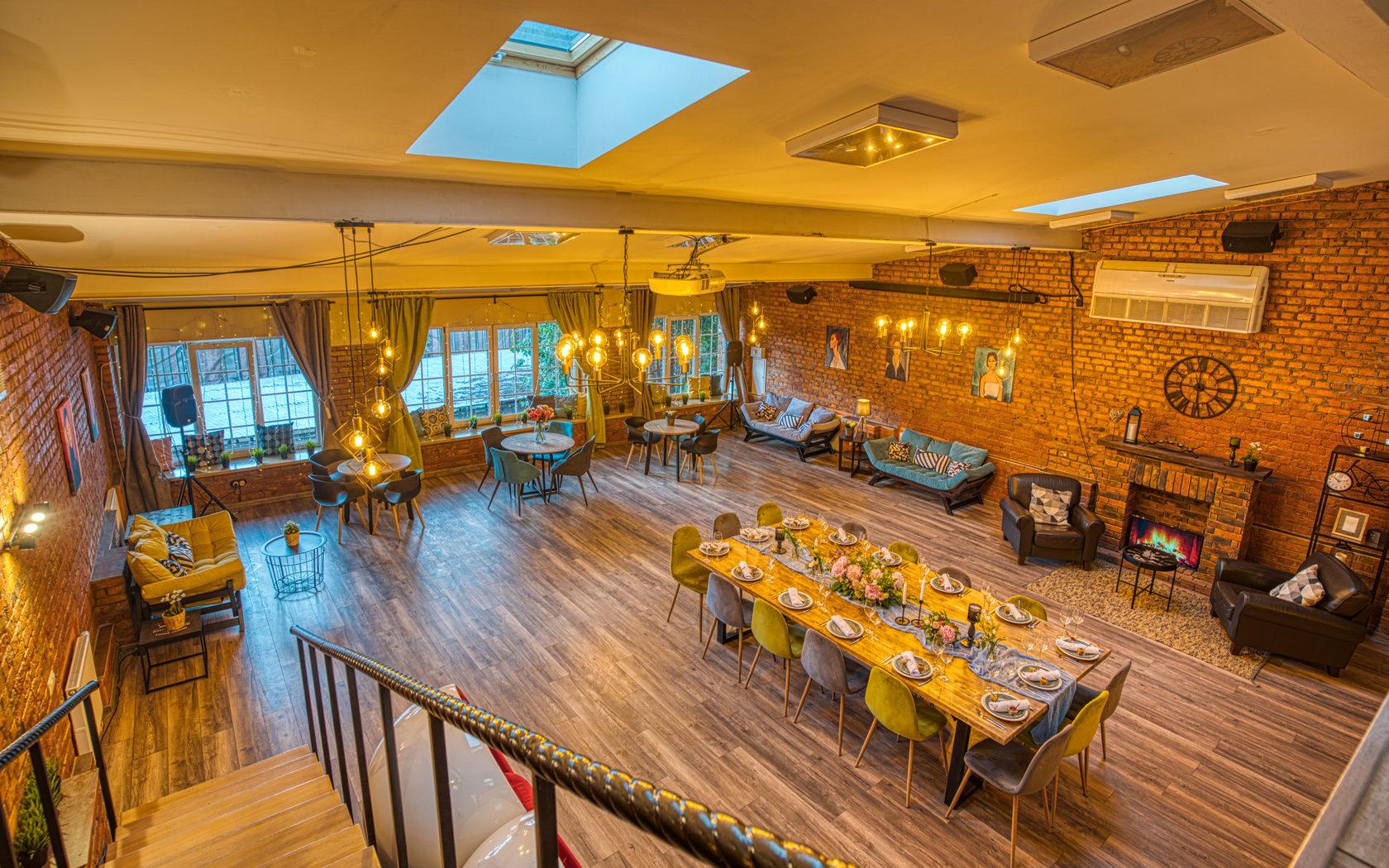Лофт пространство для свадьбы
