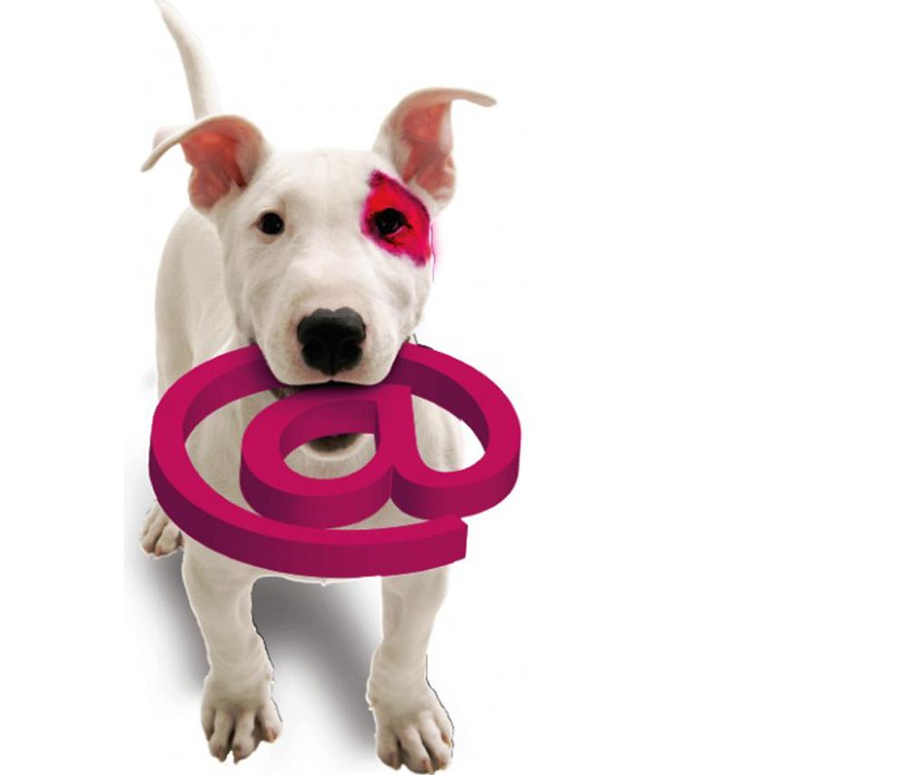 Собака символ картинки