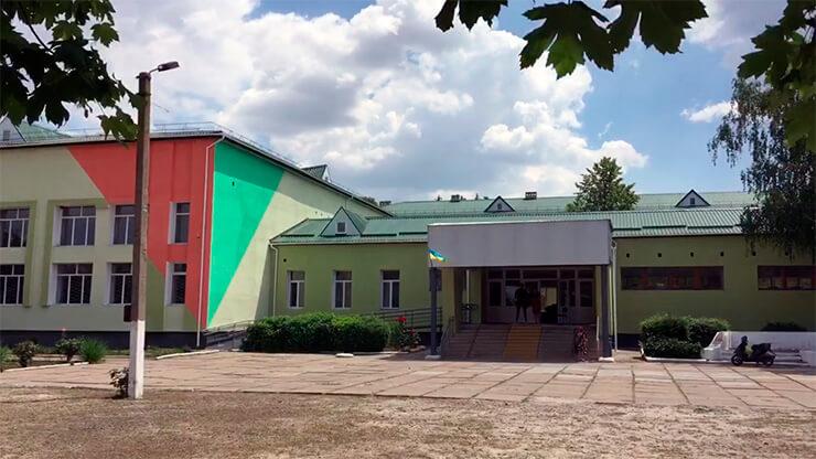 Школа в Геническом районе получила помощь от ППШ - фото