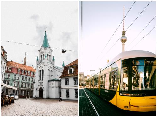 Рига и Берлин в сентябре
