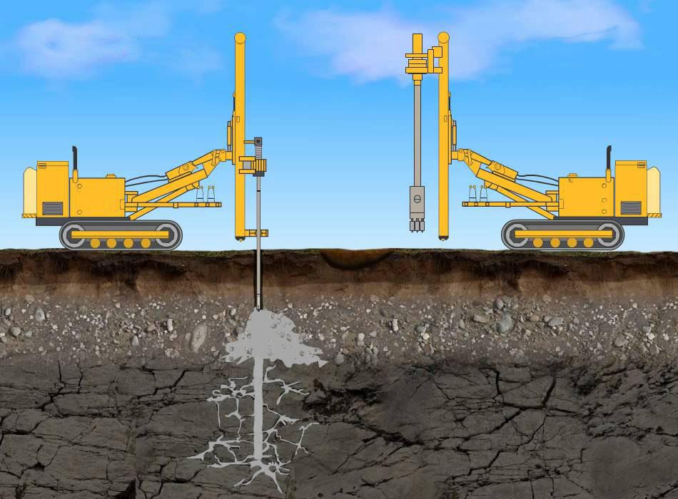 цементация грунтов цементным раствором