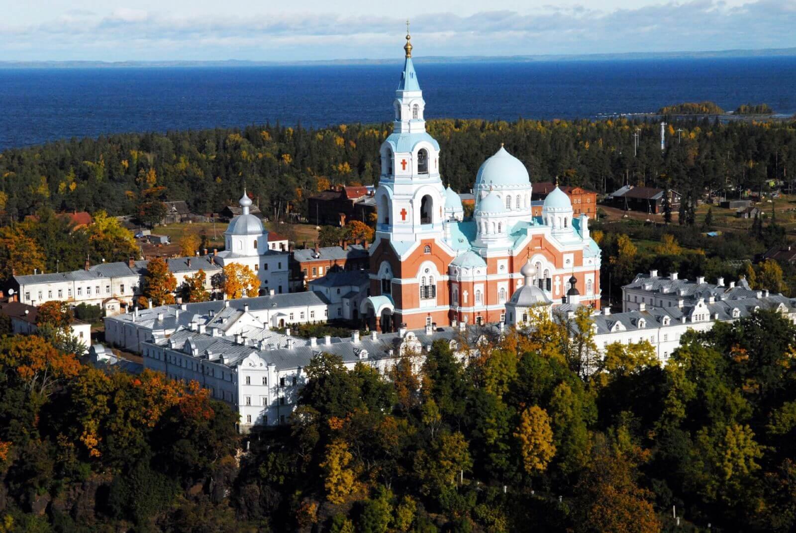 Валаамский монастырь Ладожское озеро