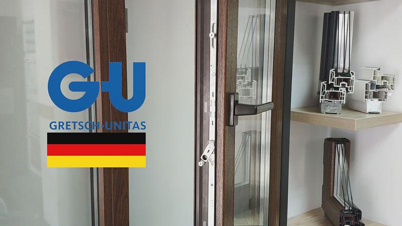 Віконна німецька фурнітура GU
