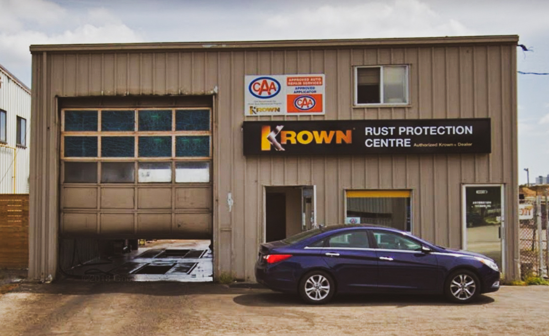 Krown, антикоррозийные средства для автомобиля, первая мастерская Krown