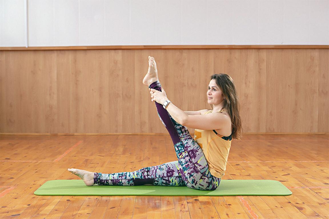 Пилатес - это система упражнений, которая доступна для всех