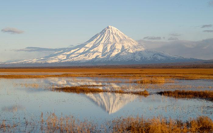 Кроноцкий вулкан. Туры на Камчатку.