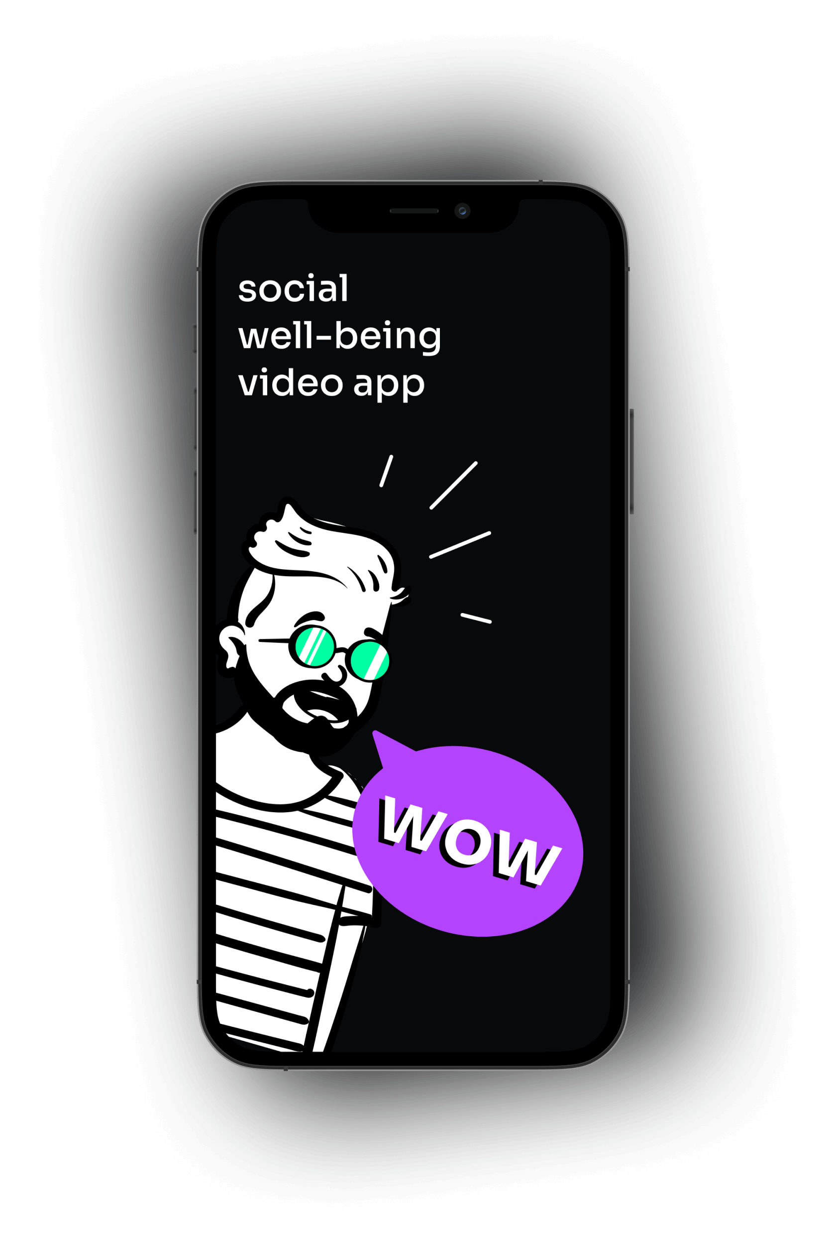 Social well-being app