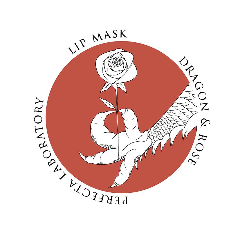 Тающая маска для губ DRAGON & ROSE