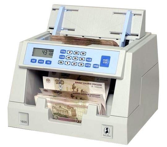 Счетчик банкнот DE LA RUE 1600 в Ташкенте, Узбекистане
