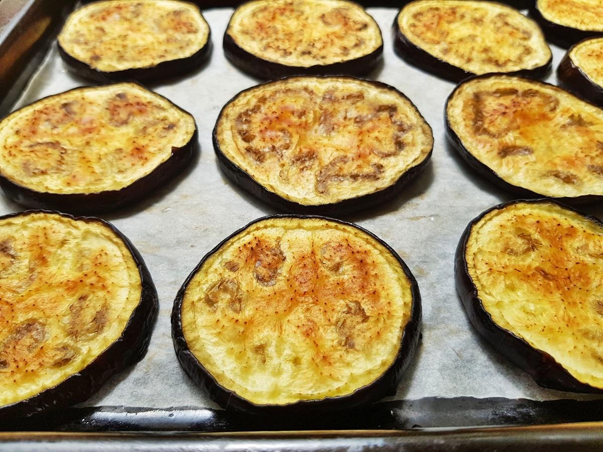 Баклажаны в духовке, для маринада. Вкусный Израиль.