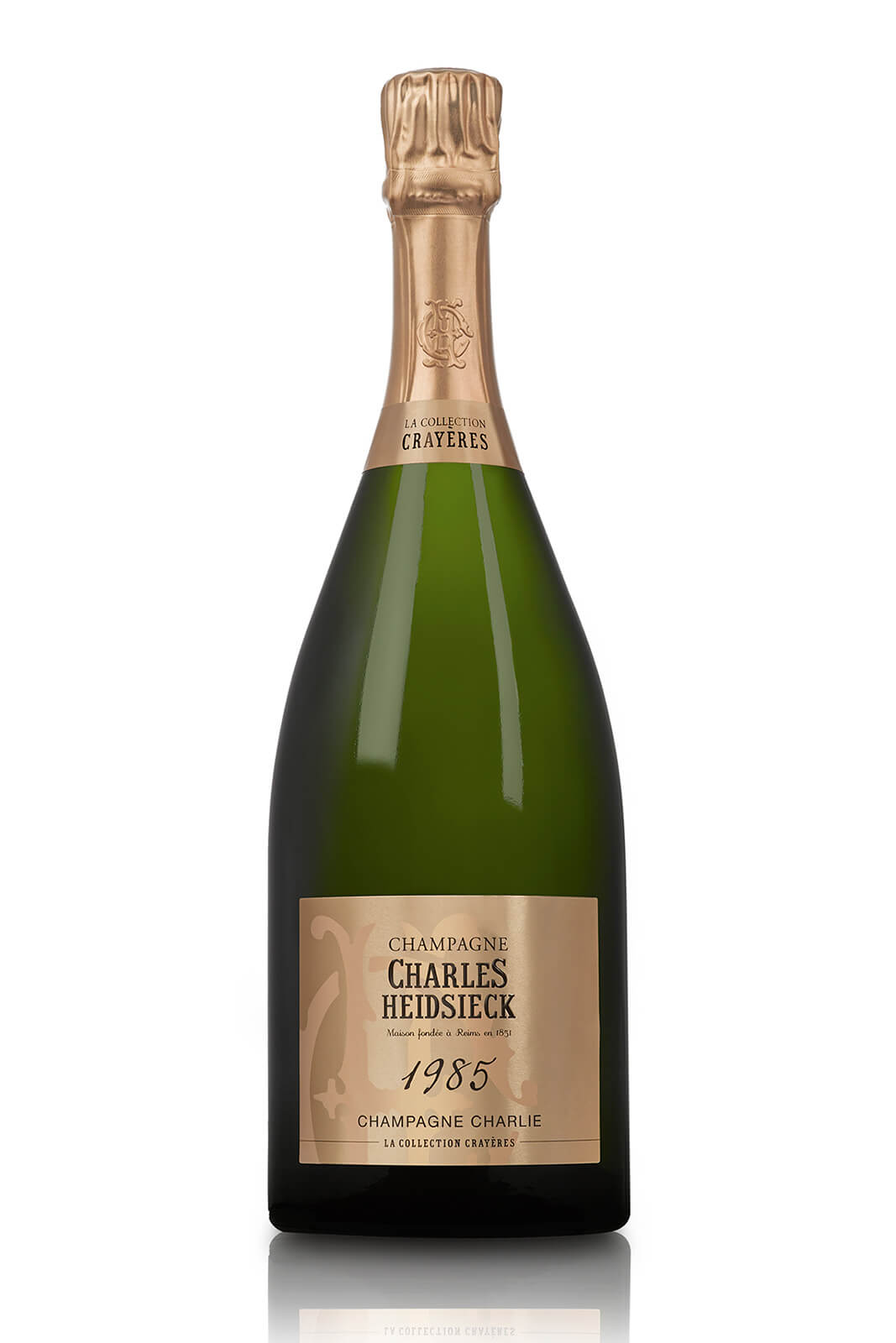 Charles Heidsieck Champagne Charlie 1985