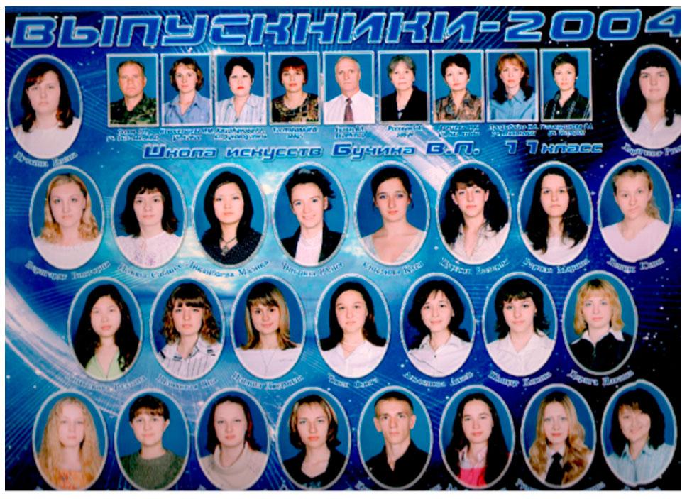 11 КЛАСС .  2004 г.  Кл. рук. Каиржанова Л.Л.