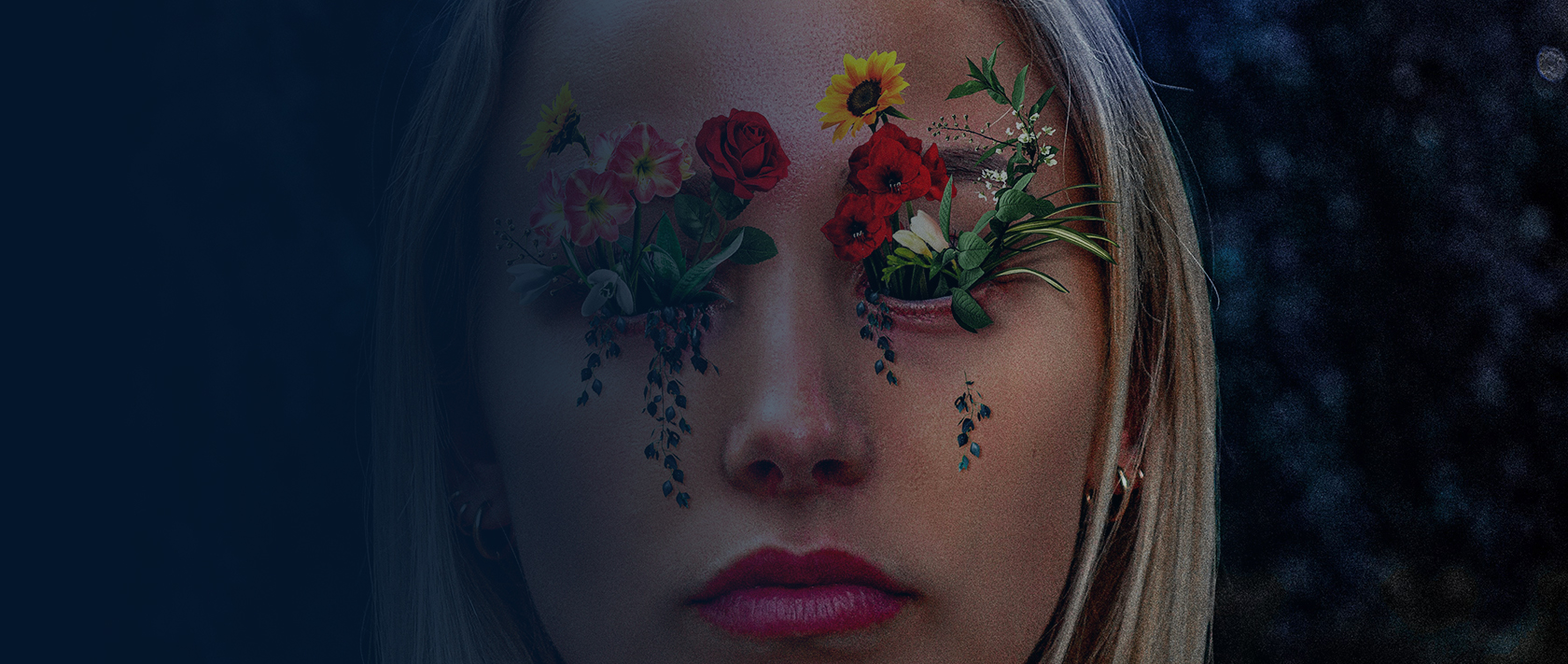 Digital art project Abstract portraits