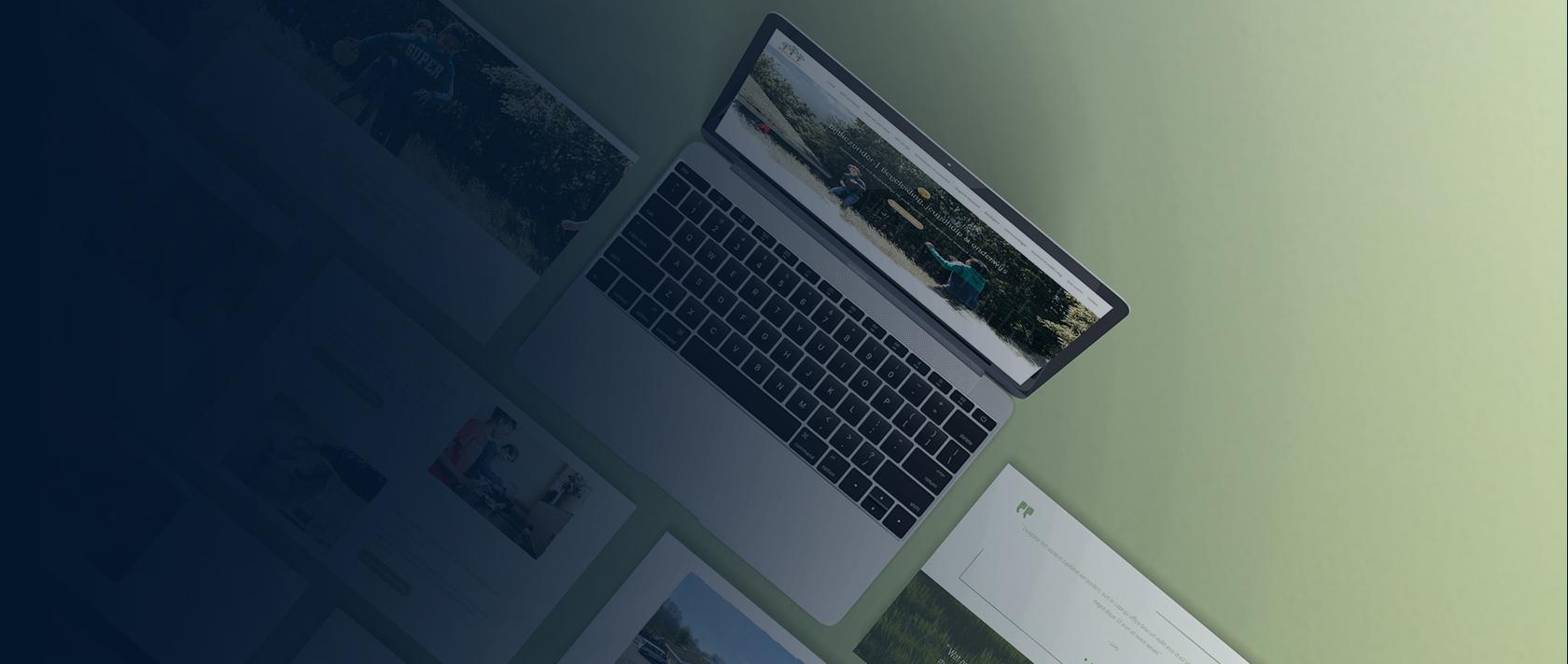 Branding en webdesign project BijBiezonder