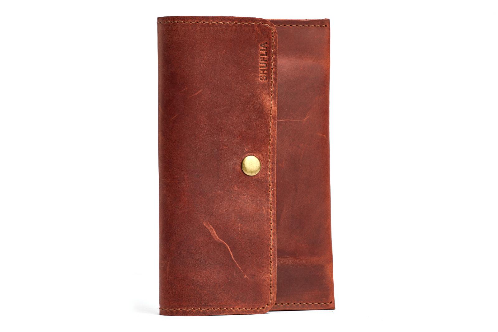 Шкіряний гаманець LOBBY | Shuflia