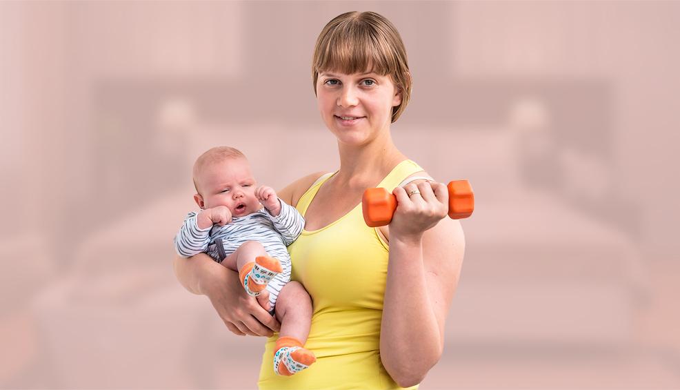 Фитнес похудеть после родов