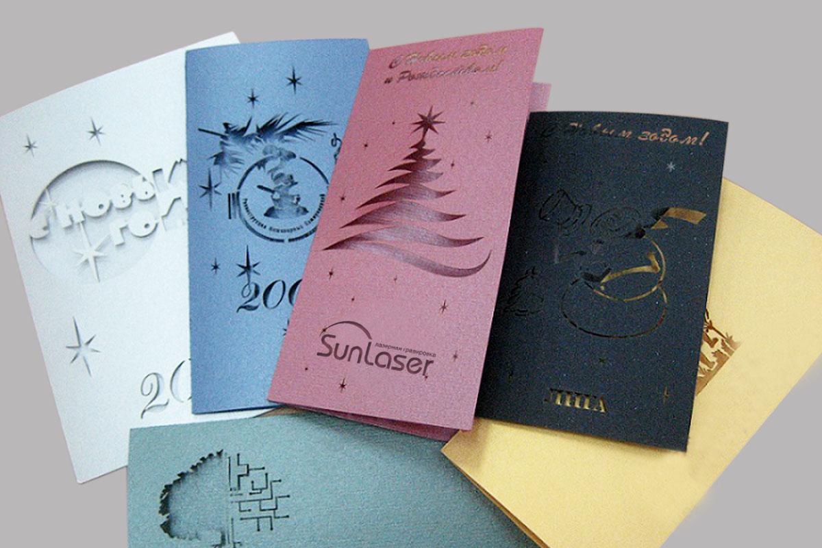 Производство открыток на заказ