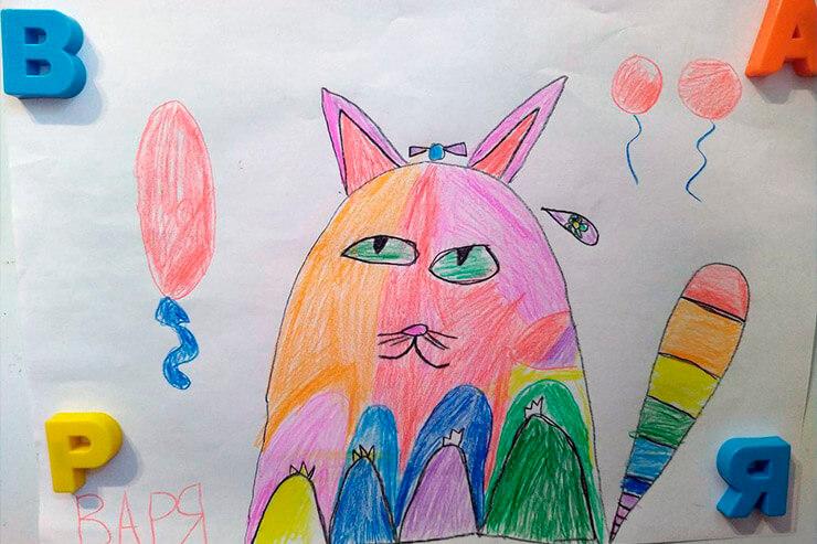 Приз зрительских симпатий в конкурсе рисунка от Партии Шария в Херсоне - фото