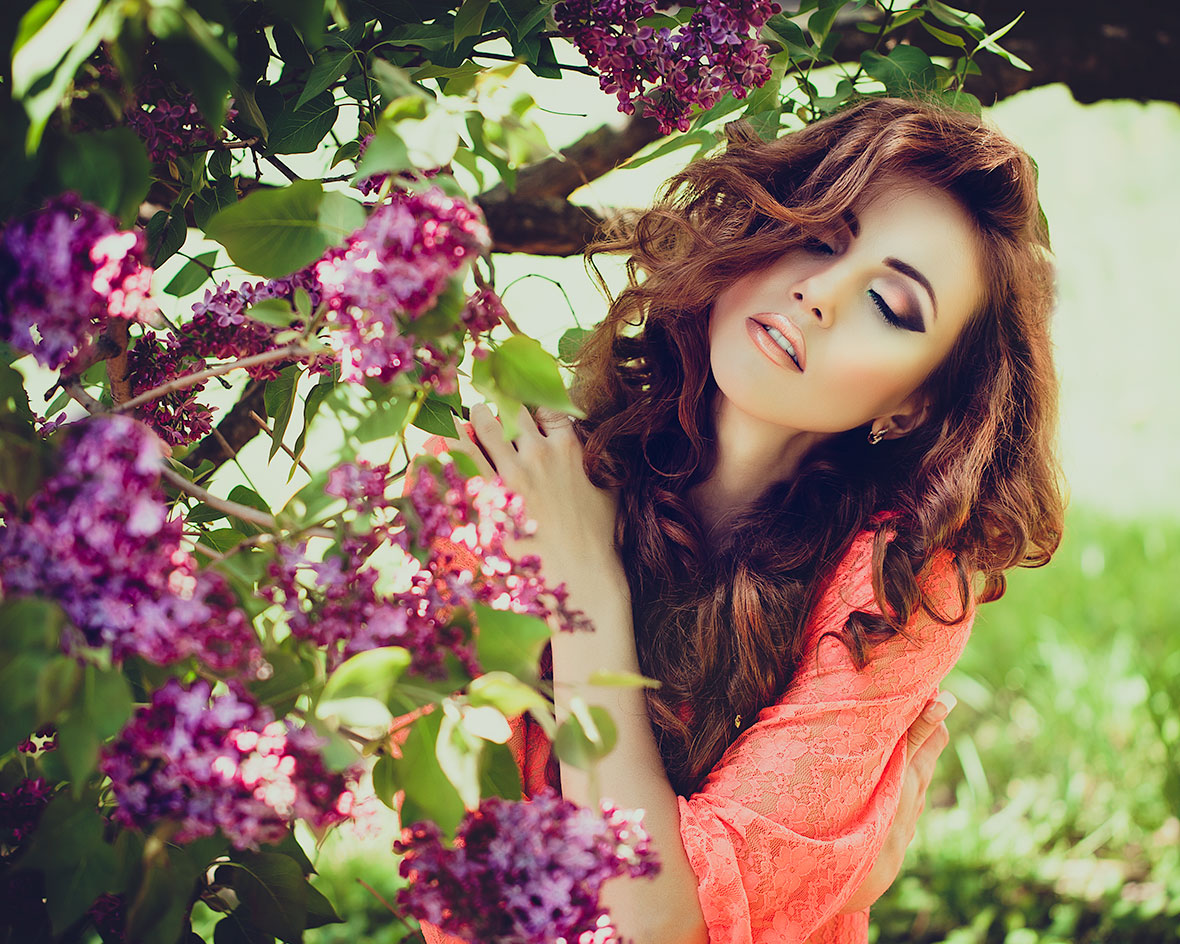 Как фотографироваться на природе летом позы. Снимаем портреты на ... | 595x744
