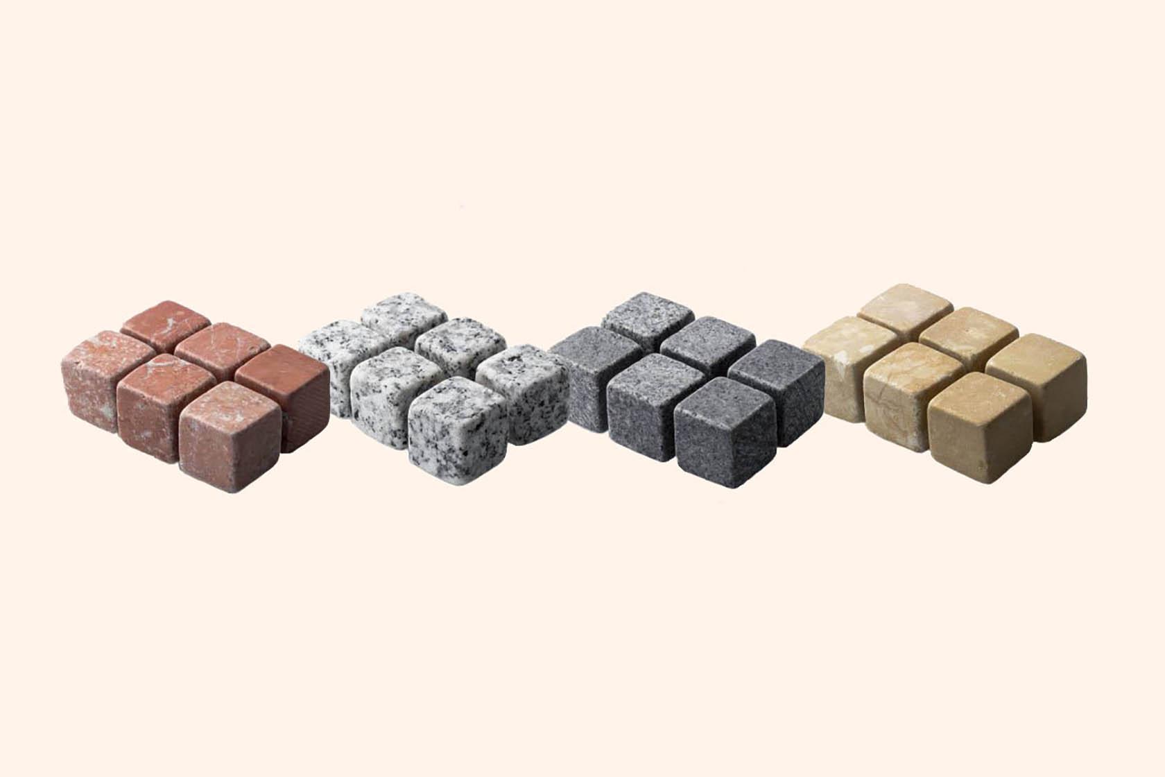 Разновидности камней для виски