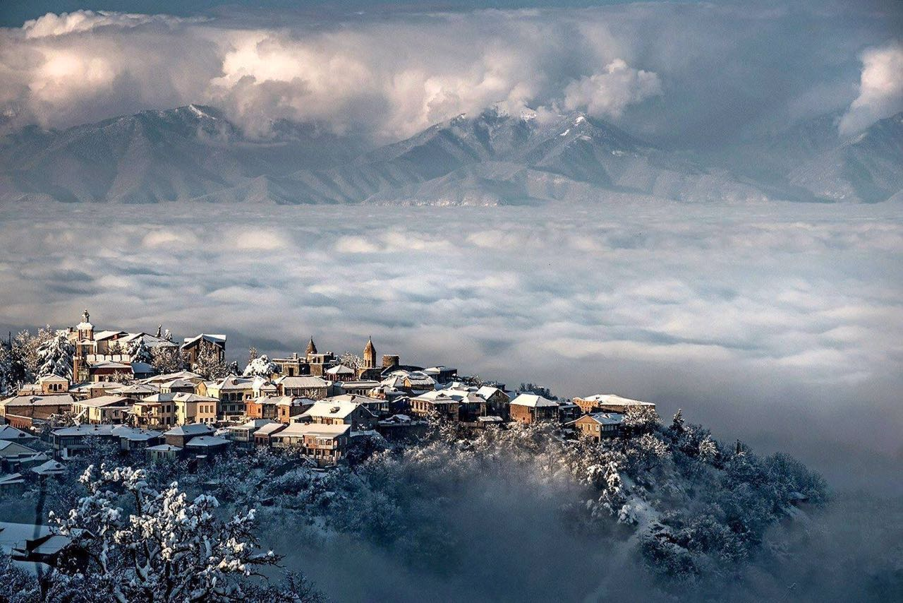 Картинки тбилиси зимой, анимацией