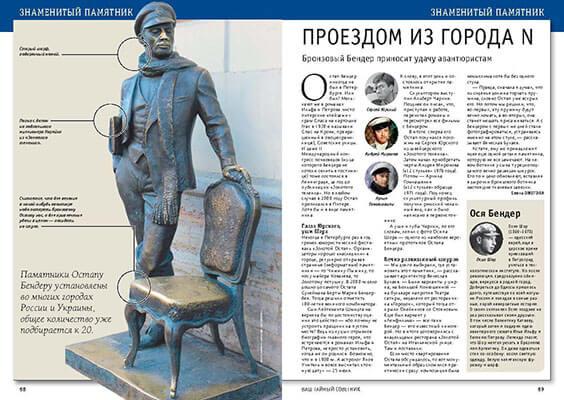 Памятник Остапу Бендеру. История