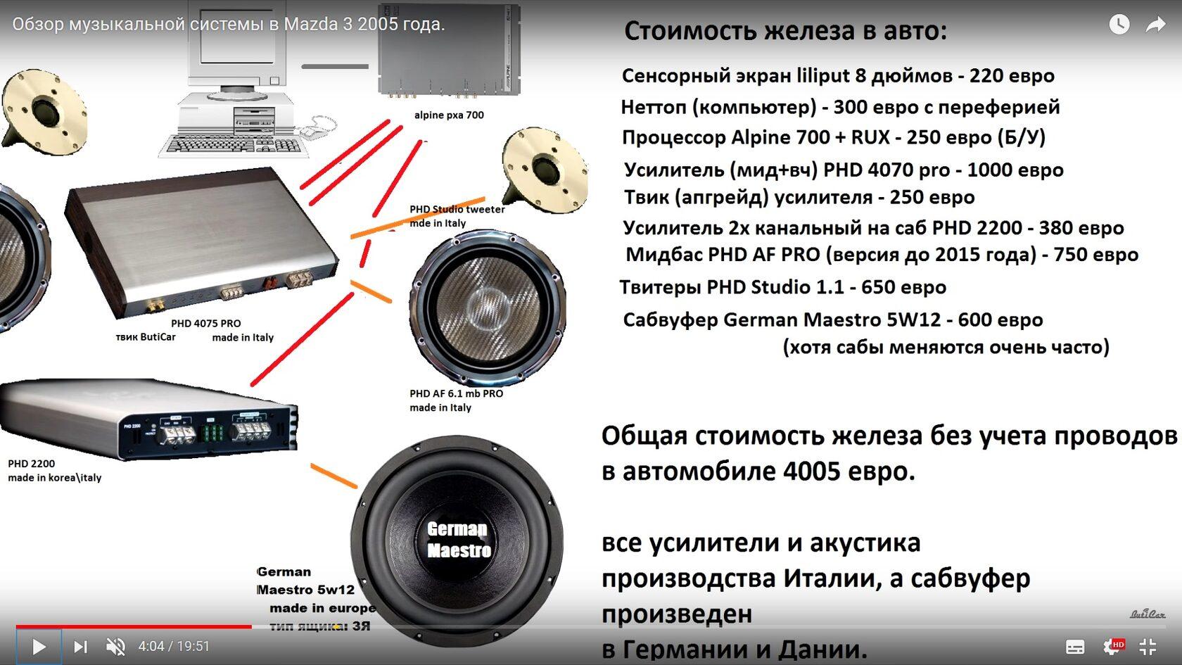 автозвуковая система замена музыки в mazda 3