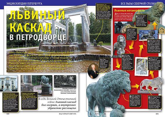 Памятник Львиный каскад в Петродворце. История