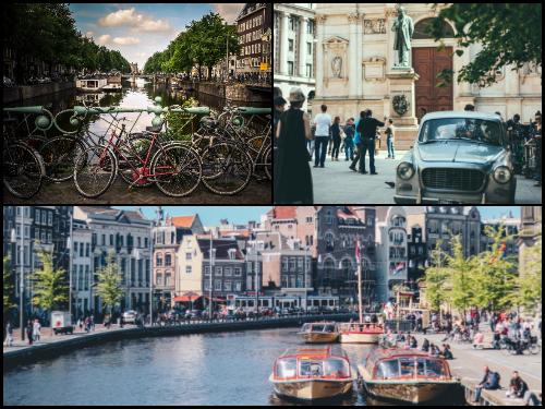 Амстердам и Милан в октябре