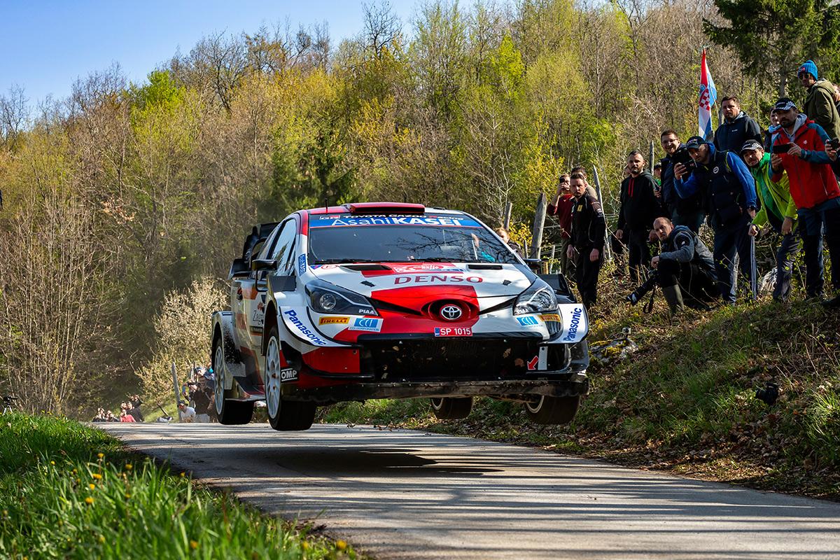 Себастьен Ожье и Жюльен Инграссиа, Toyota Yaris WRC, ралли Хорватия 2021