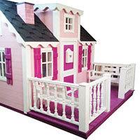 Большая терраса для детского домика