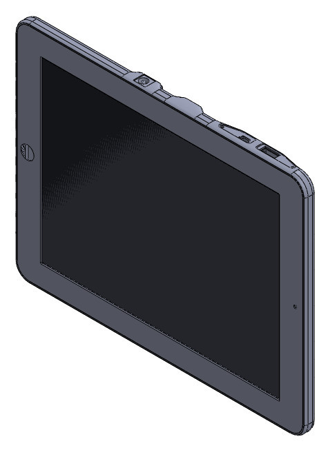 Этому планшету нужен защищённый корпус