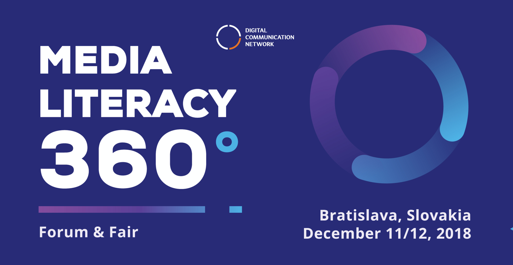 Media Literacy 360° Forum and Fair,
