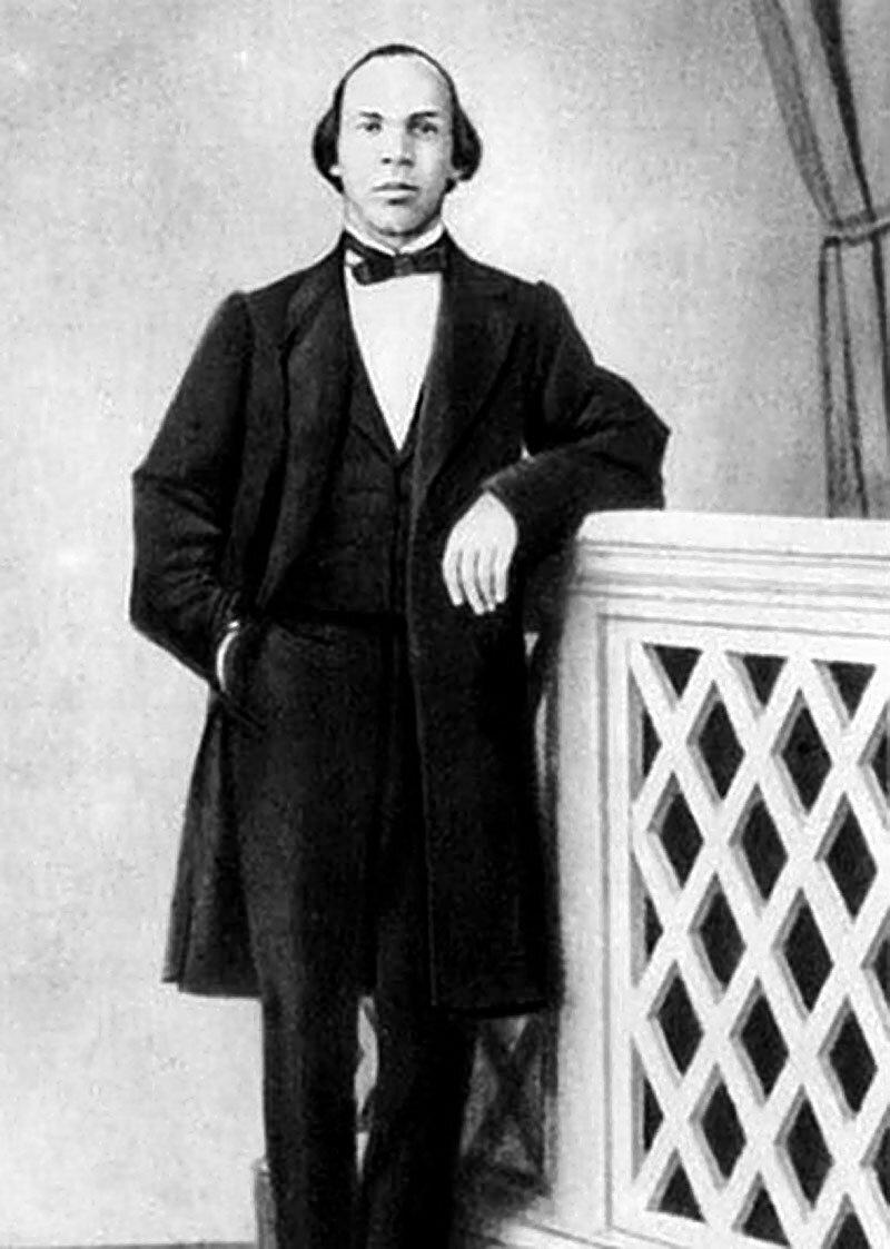 Отец Ленина — Илья Ульянов. Пенза, 1860-е годы