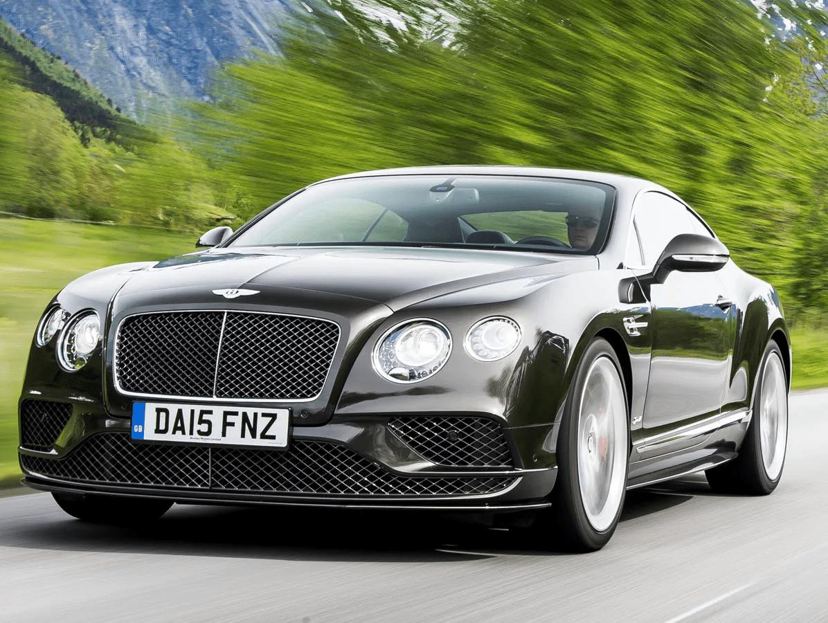 Второе поколение Bentley Continental